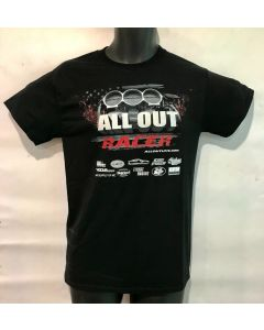 """Limited ALL OUT """"Racer"""" T Shirt- Style- 2"""